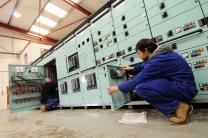 New Switchboards in our Workshop in Manufacture and Prior to Despatch